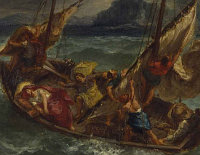Eugène Delacroix: The Storm on the Sea of Galilee