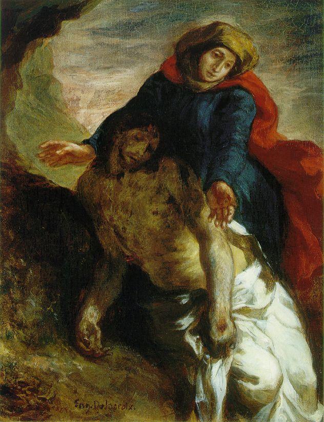 Eugène Delacroix: Pietà