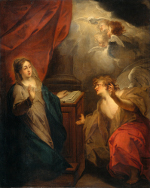 Jacob de Wit: The Annunciation to Mary
