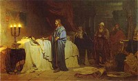 Ilya Repin: Raising of Jairus' Daughter
