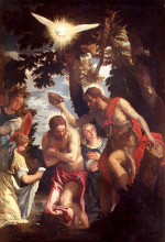 Paolo Veronese: The Baptism of Jesus