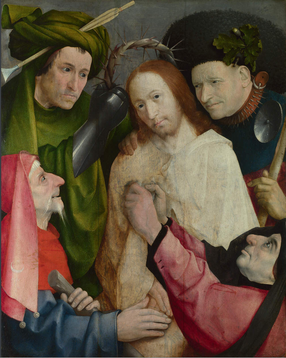Jheronimus Bosch: The Crowning with Thorns