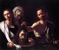 Caravaggio: Salome with the Baptist's Head