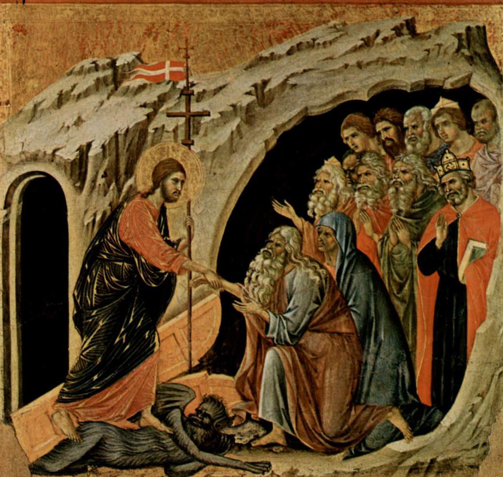 Duccio di Buoninsegna: Cristo en el limbo