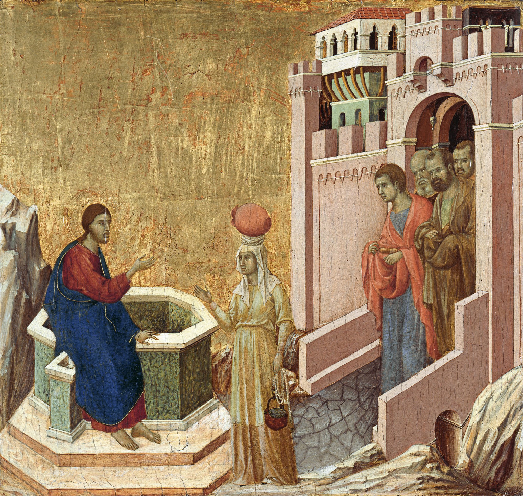 Duccio di Buoninsegna: The Samaritan Woman