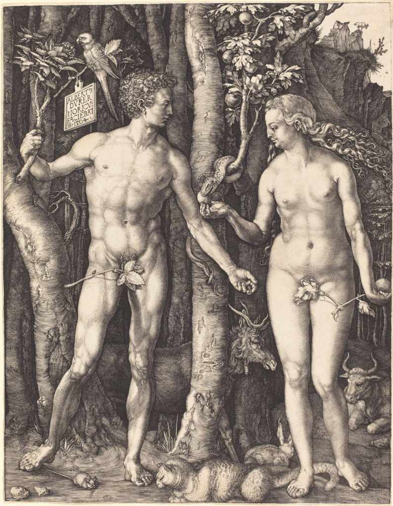 Albrecht D�rer: Adam and Eve (1504)