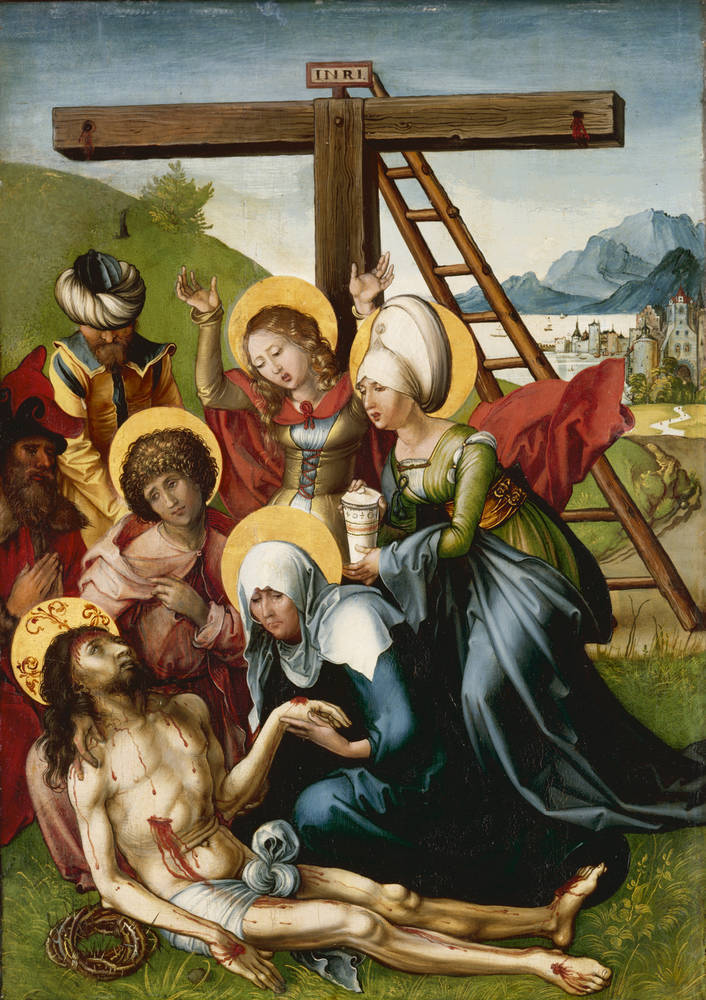 Albrecht D�rer: Seven Sorrows: The Lamentation