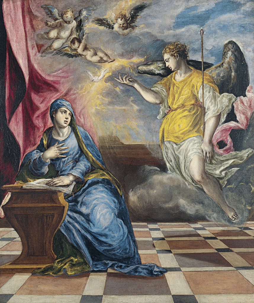 El Greco: The Annunciation (1576)