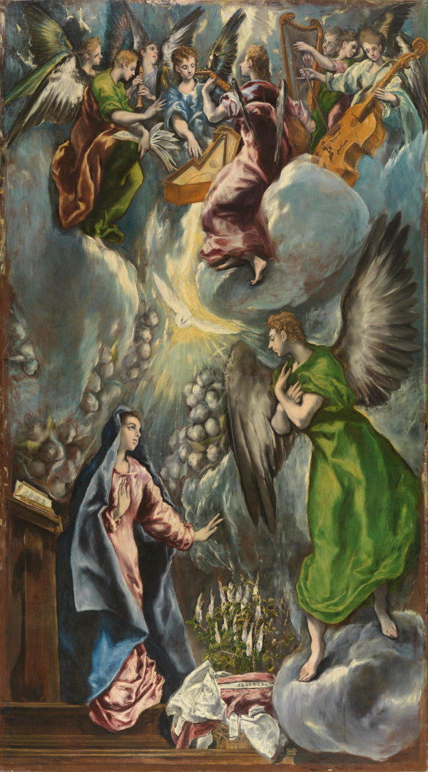 El Greco: The Annunciation (1600)