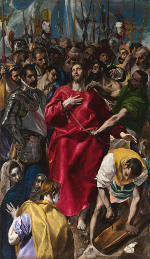El Greco: The Disrobing of Christ