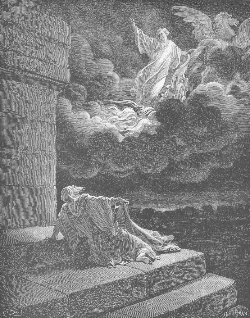 Gustave Doré: Elijah's Ascension