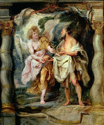 Peter Paul Rubens: An Angel Gives Bread and Water to Elijah