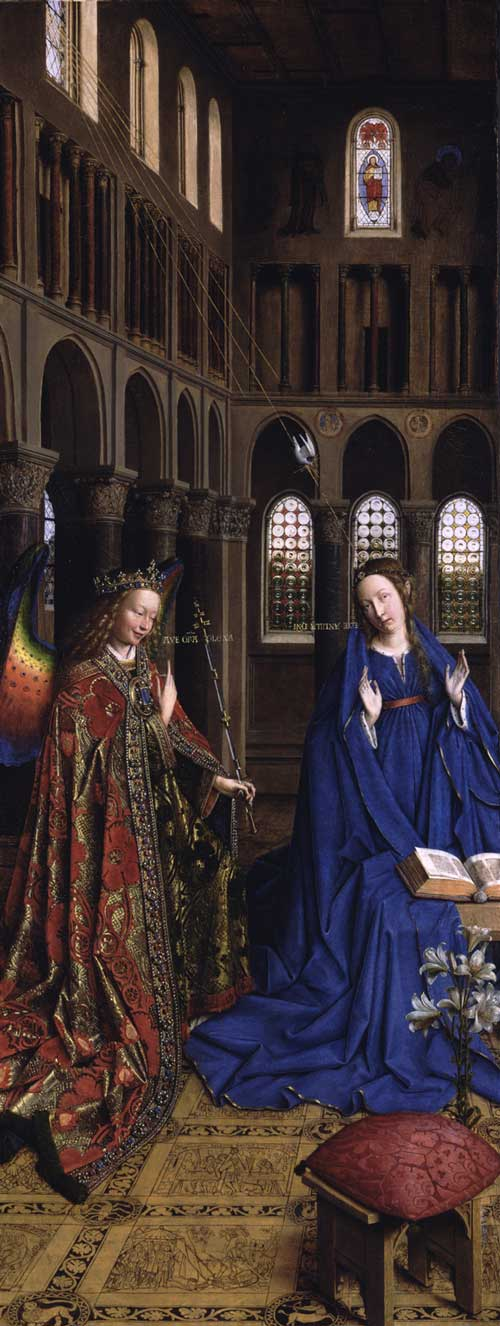Jan van Eyck: The Annunciation (Washington)