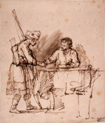 Rembrandt Harmensz. van Rijn: Esau Sells his Birhtright to Jacob