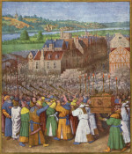 Jean Fouquet: The Conquest of Jericho