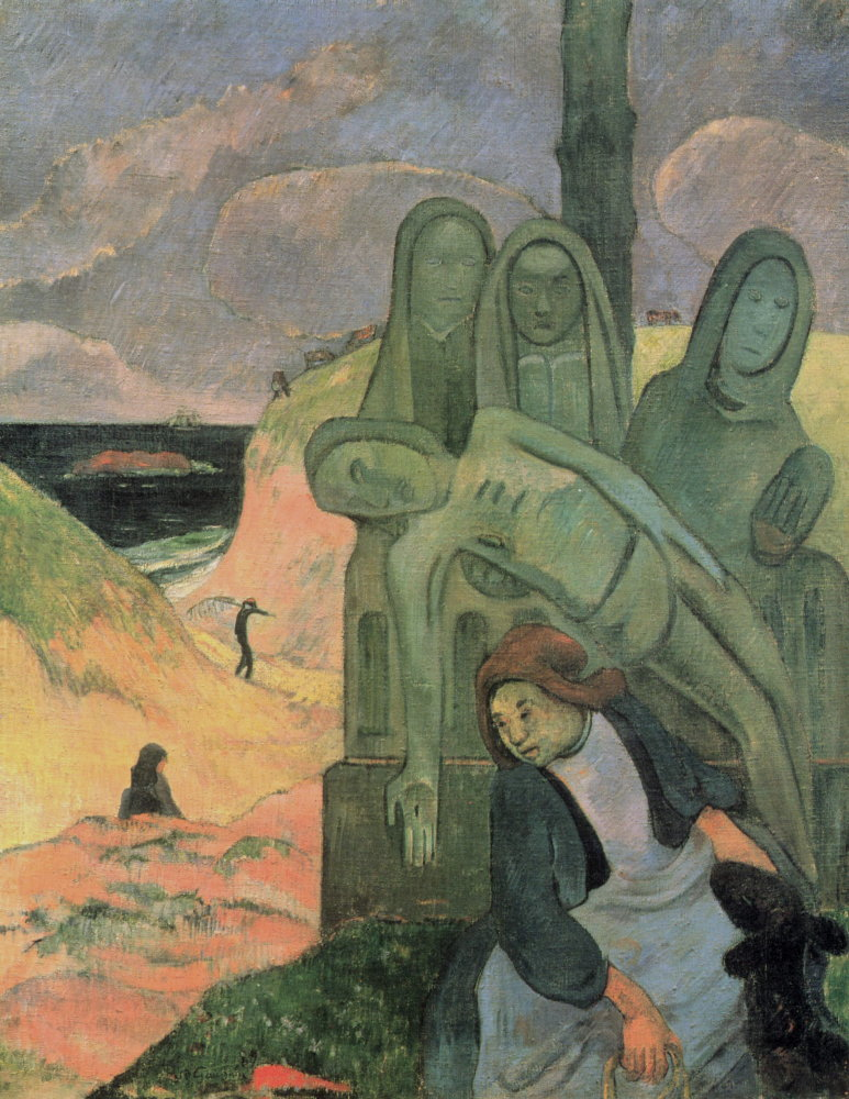 Paul Gauguin: Breton Calvary (Green Christ)