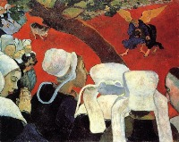 Paul Gauguin: Vision after the sermon