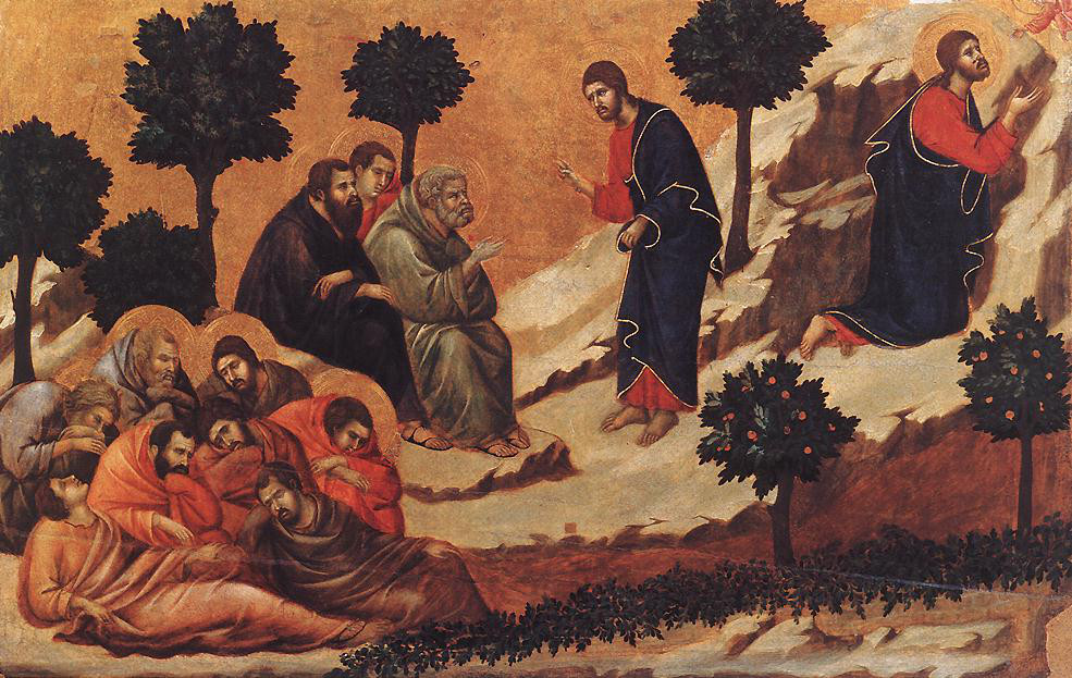 Duccio di Buoninsegna: Prayer on the Mount of Olives