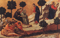 Duccio di Buoninsegna: Prayer on the Mount of Olives (Maestà)