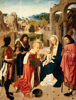 Geertgen tot Sint Jans: Adoration of the Magi (Amsterdam)