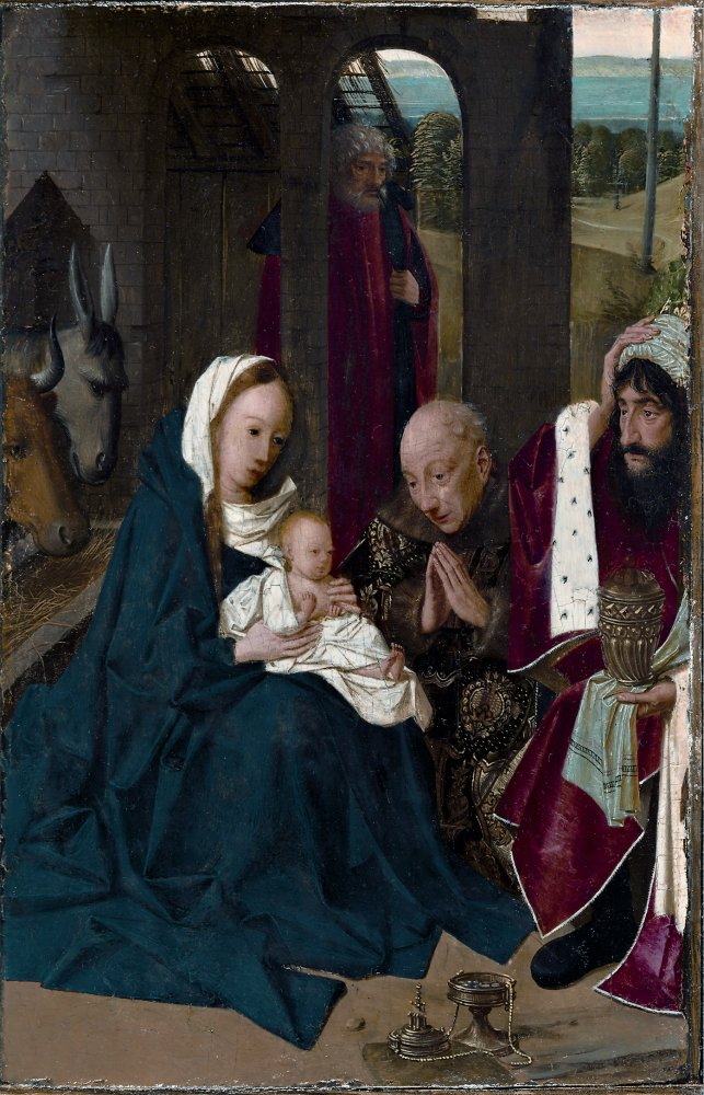 Geertgen tot Sint Jans: Adoration of the Magi (Cleveland)