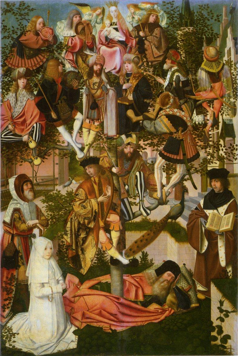 Geertgen tot Sint Jans: Tree of Jesse