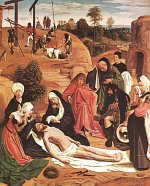Geertgen tot Sint Jans: The Lamentation of Christ
