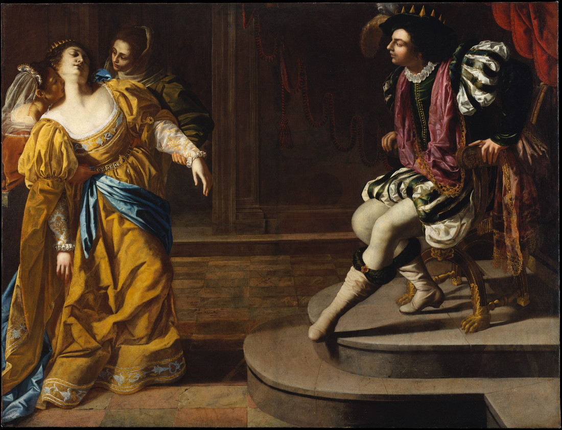 Artemisia Gentileschi: Esther before Ahasuerus