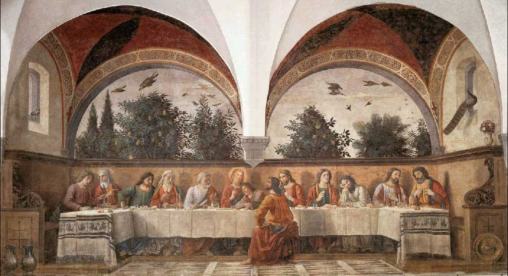 Domenico Ghirlandaio: The Last Supper