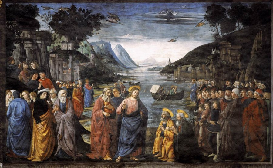 Domenico Ghirlandaio: The Calling of Peter and Andrew