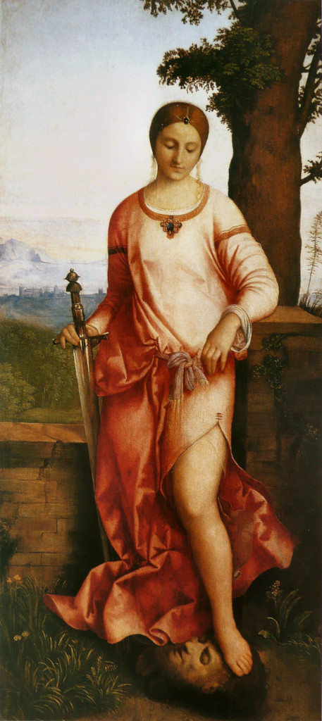 Giorgione: Judith with Holofernes' Head