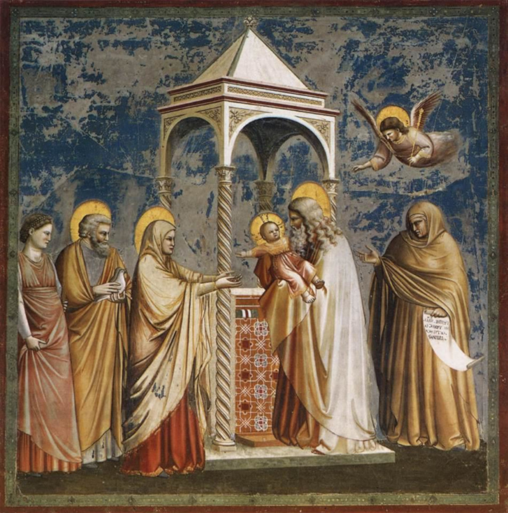 Giotto: Presentation in the Temple