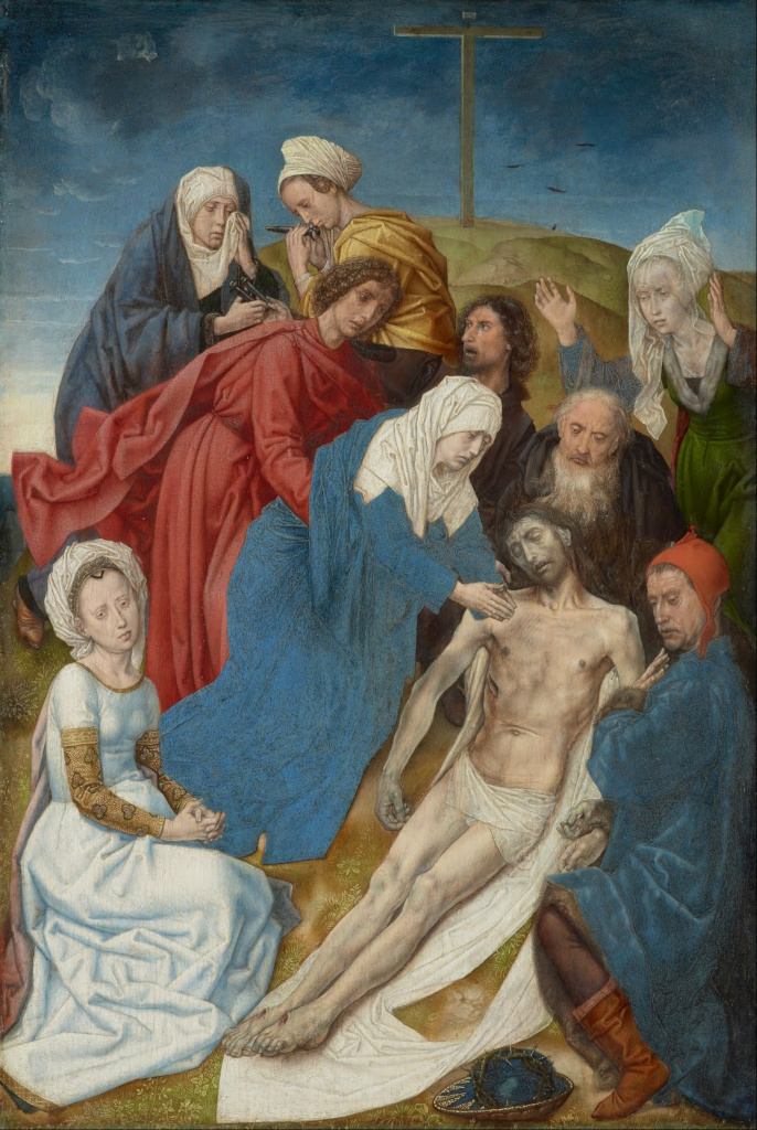 Hugo van der Goes: The Lamentation of Christ