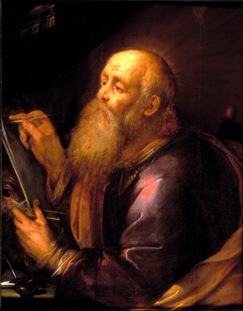 Gortzius Geldorp: Luke the Evangelist