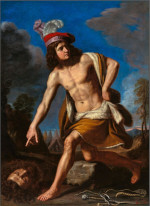 Il Guercino: David with Goliath's Head