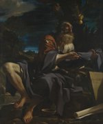 Il Guercino: Elijah fed by Ravens
