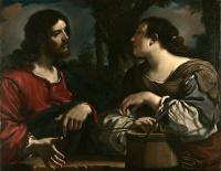 Il Guercino: Jesus and the Woman of Samaria