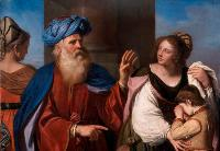 Il Guercino (Giovanni Francesco Barbieri): Abraham Casting Out Hagar and Ishmael