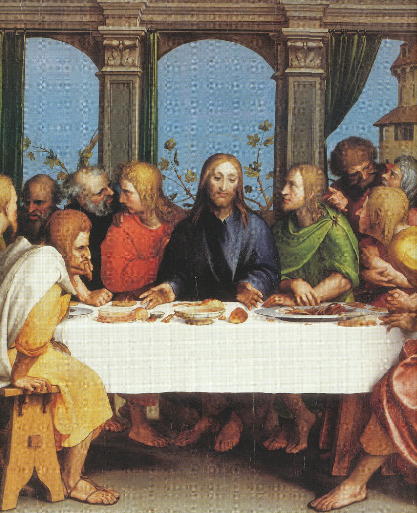 Hans Holbein the Younger: The Last Supper