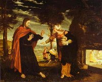 Hans Holbein the Younger: Noli me tangere
