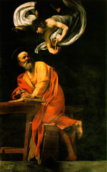 Caravaggio: St Matthew and the Angel