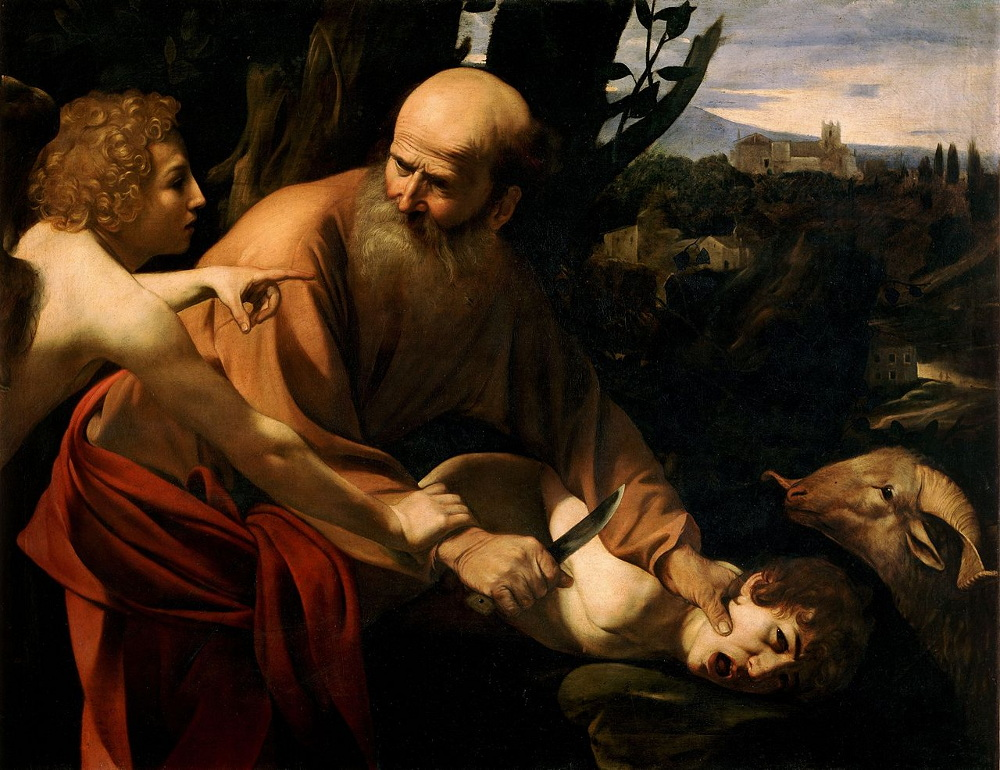 Caravaggio: The Sacrifice of Isaac (1603)