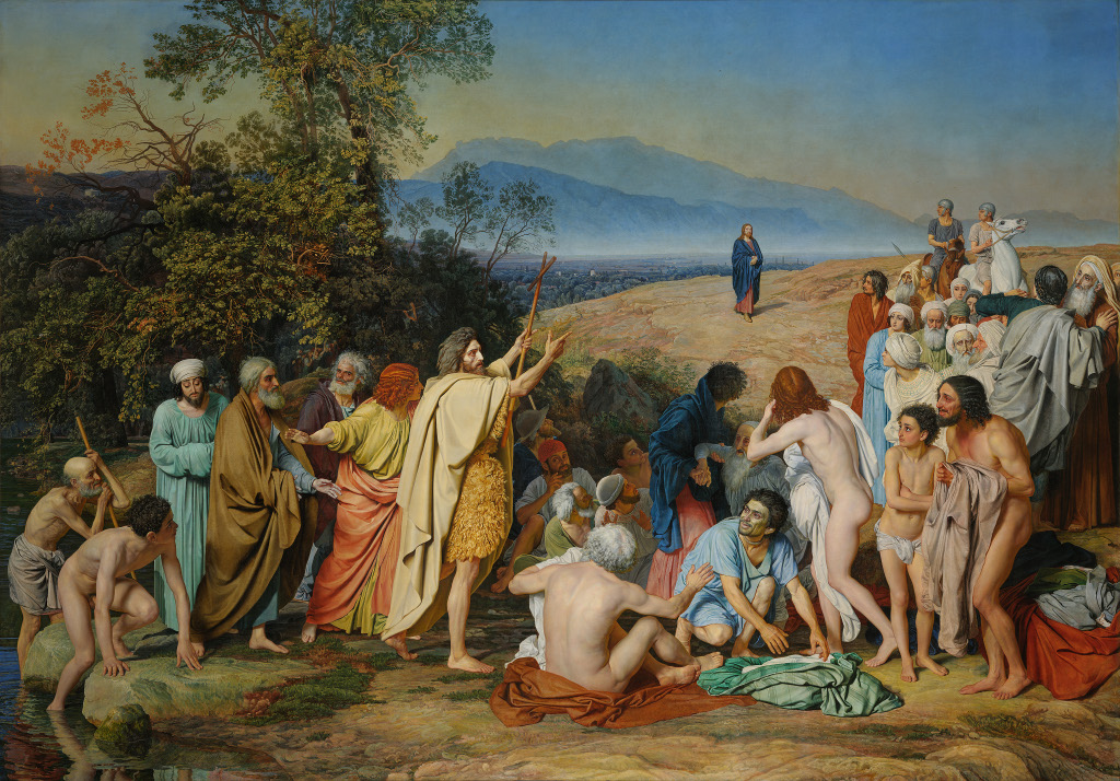 Alexander Ivanov: The Appearance of Christ before the People