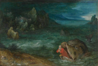 Jan Brueghel the Elder: Jonah Leaving the Whale