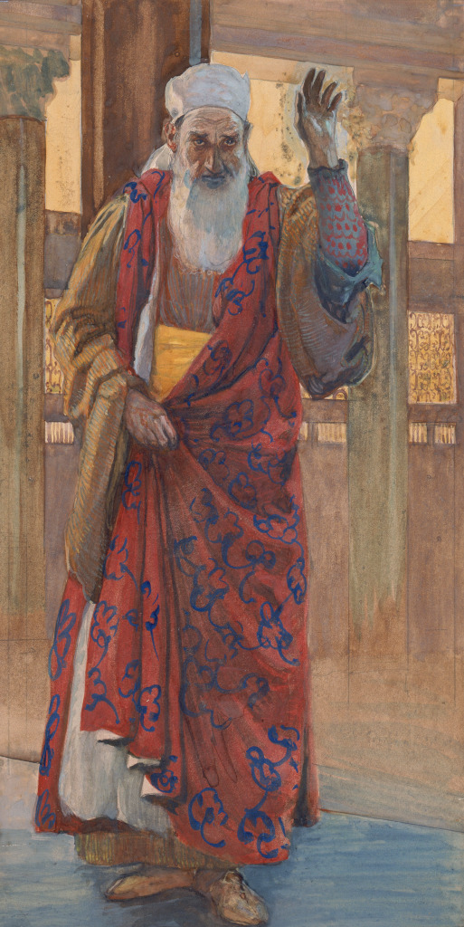 James Tissot: The Prophet Isaiah