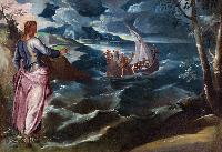 Il Tintoretto: Christ at the Sea of Galilee