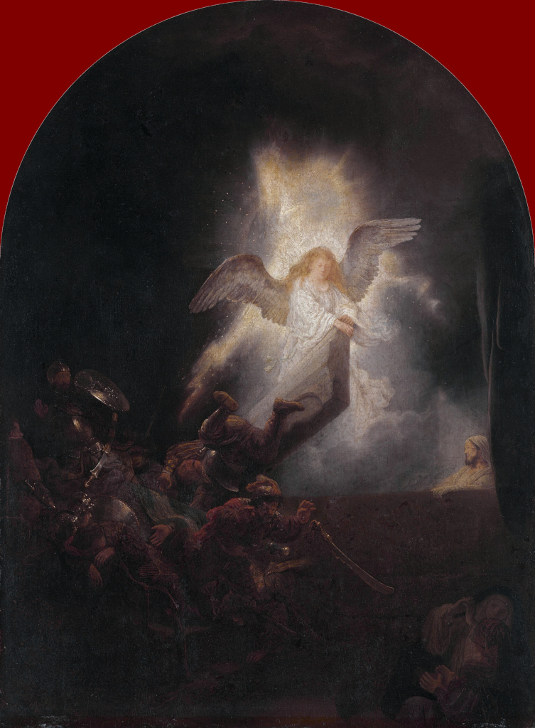 Rembrandt Harmensz. van Rijn: The Resurrection of Christ