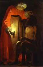 Georges de La Tour: Job Ridiculed by his Wife