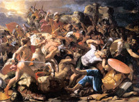 Nicolas Poussin: Joshua's Victory over the Amorites