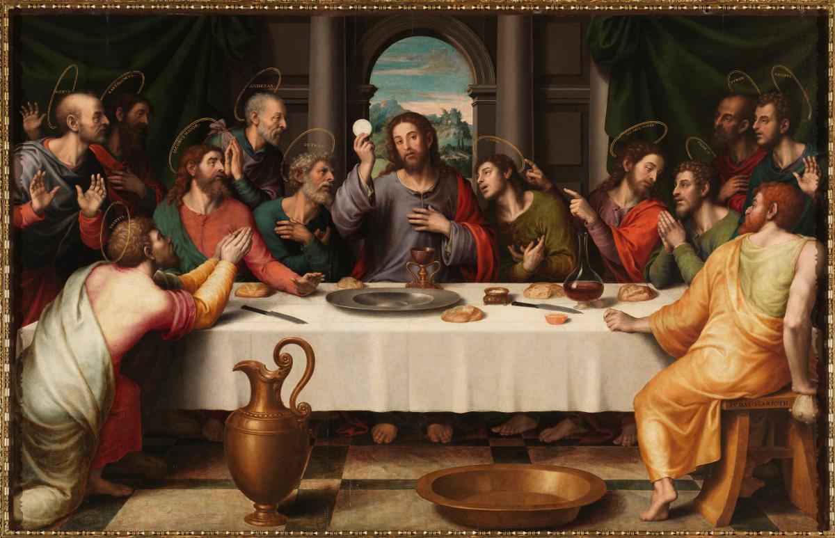 Juan de Juanes: The Last Supper